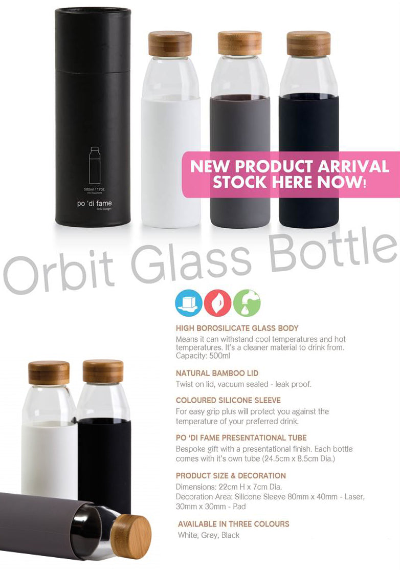 Orbit Glass Bottle