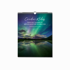 Canadian Rockies Perpetual Calendar of Anniversaries and Celebrations