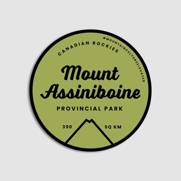 Mount Assiniboine Provincial Park Sticker