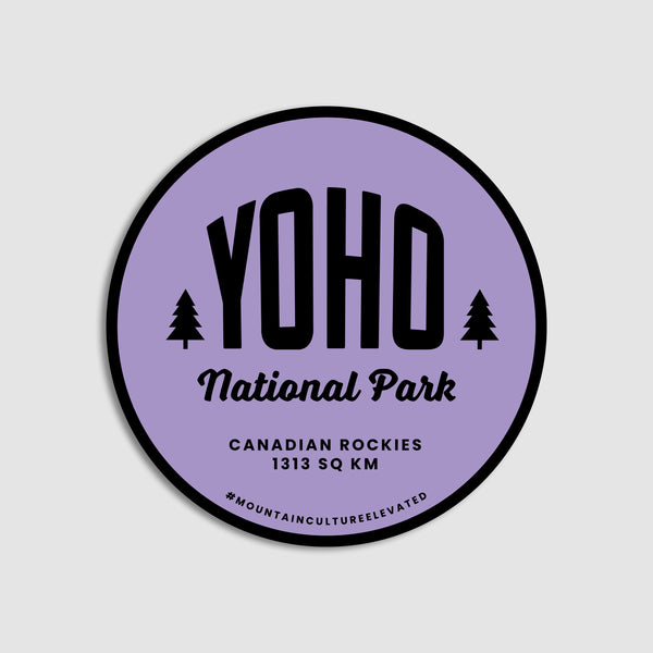 Canada's Mountain Parks Sticker Pack (Shipping included)