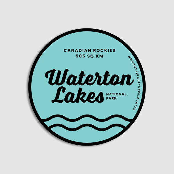 Waterton Lakes National Park Sticker