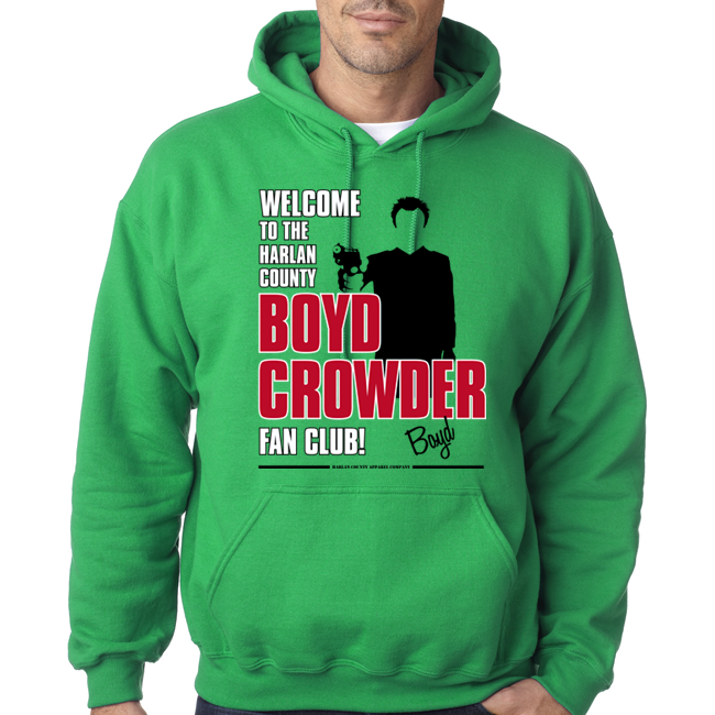 "Boyd Crowder ""Fan Club"" Unisex Hoodie"