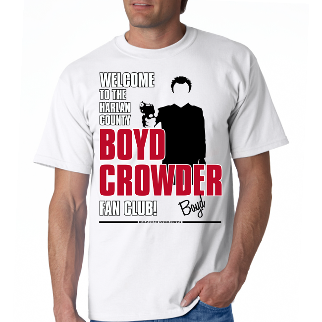 "Boyd Crowder ""Fan Club"" Unisex Tee"