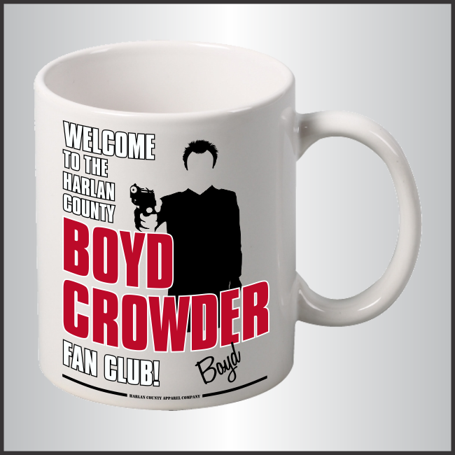 "Boyd Crowder ""Fan Club"" Mug"
