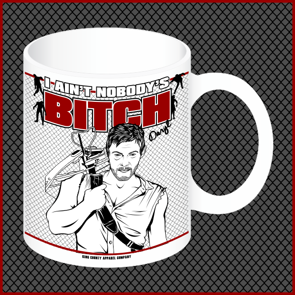 "Daryl Dixon ""Bitch"" Mug"
