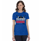 "Raylan Givens ""Genius"" Ladies Tee"