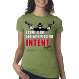 "Raylan Givens ""Intent"" Ladies Tee"