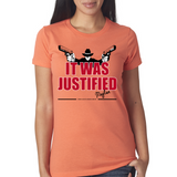 "Raylan Givens ""Justified"" Ladies Tee"