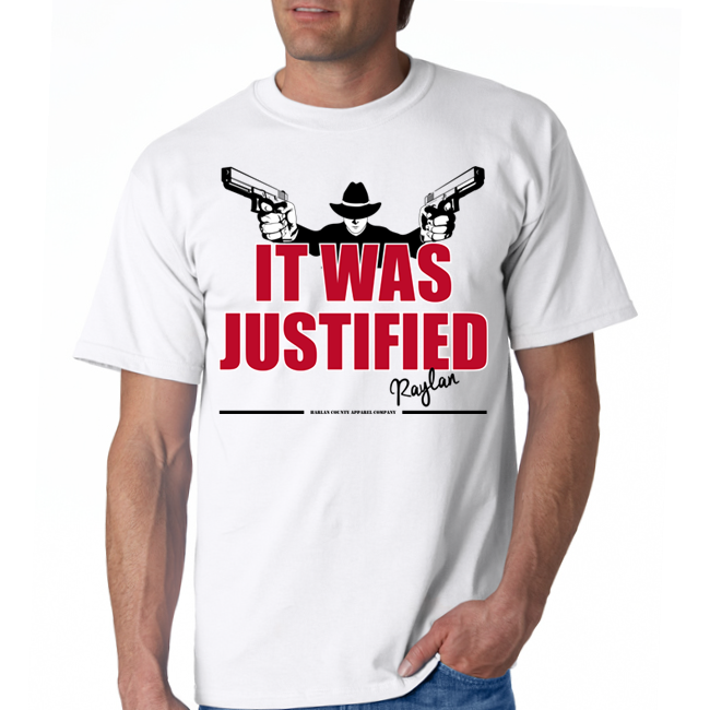 "Raylan Givens ""Justified"" Unisex Tee"
