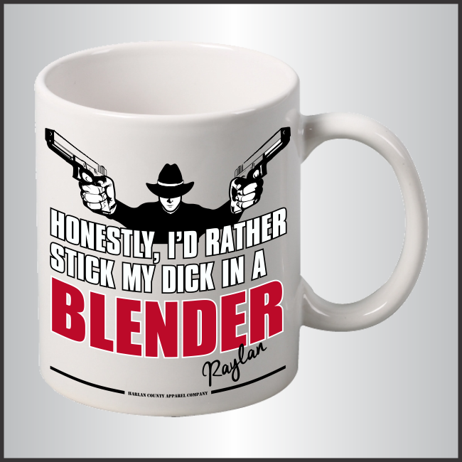 "Raylan Givens ""Blender"" Mug"