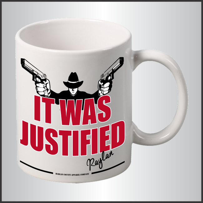 "Raylan Givens ""Justified"" Mug"