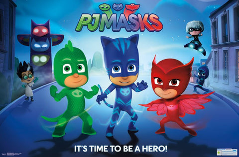 Wall Poster - PJ Masks - Hero
