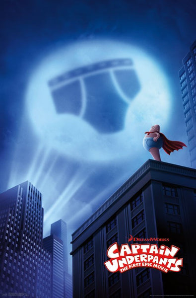 Captain Underpants Wall Poster