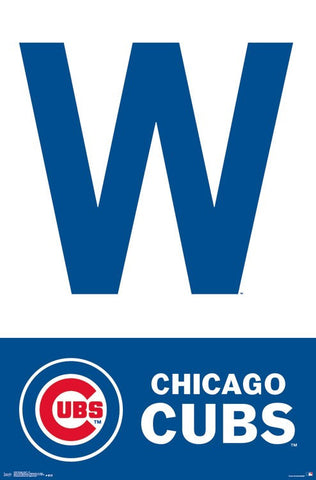 Chicago Cubs Wall Poster - W