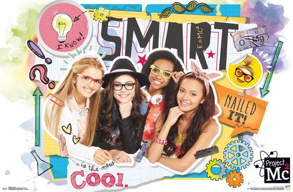 Project MC2 wall poster