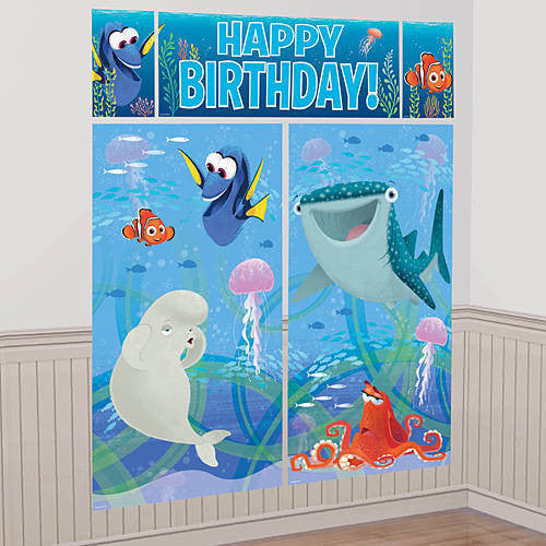Finding Dory Wall Banner Scene Setter Party Decoration