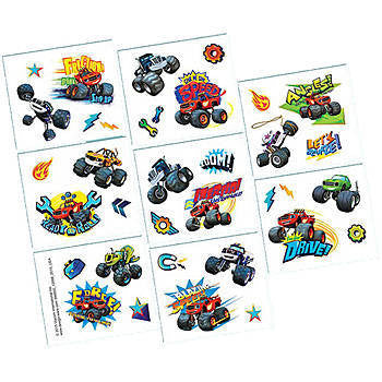 Blaze and the Monster Machines Temporary Tattoos