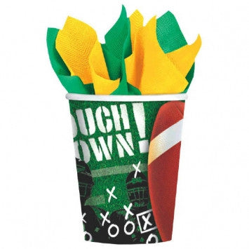 Football touchdown cups