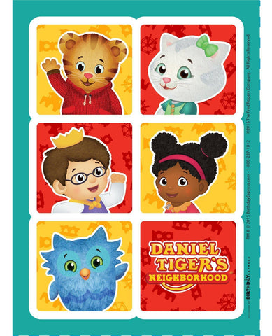 Stickers 12 Sheets - Daniel Tigers Neighborhood