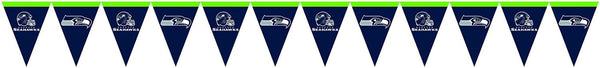 seattle seahawks pennant flag banner
