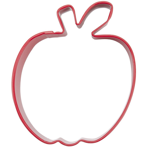 wilton apple cookie cutter 3""