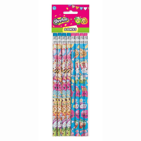 8 Shopkins Party Favor Pencils