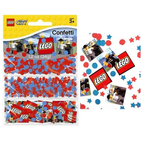 lego city party confetti