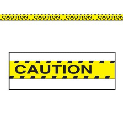 Caution Construction Work Zone Party Tape