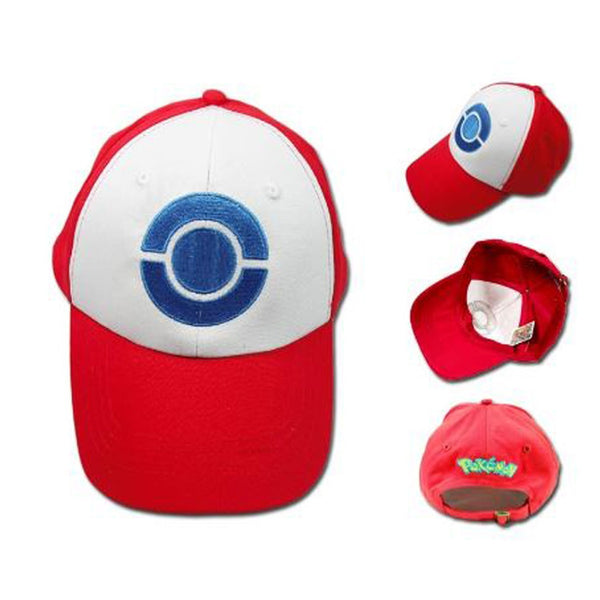 pokemon baseball hat - ash trainer
