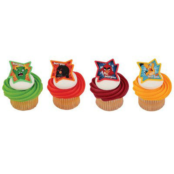 Angry Birds - Why So Angry? Cupcake Rings - 24