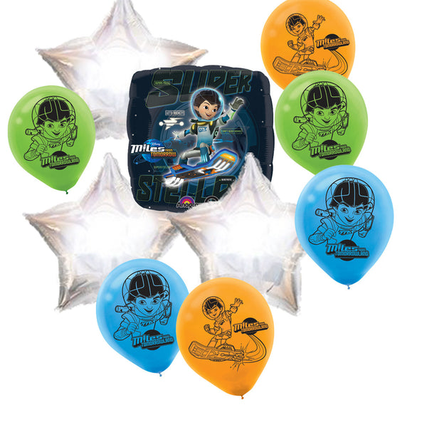 Mylar Latex Party Balloon Set - Disney Miles from Tomorrowland (10)