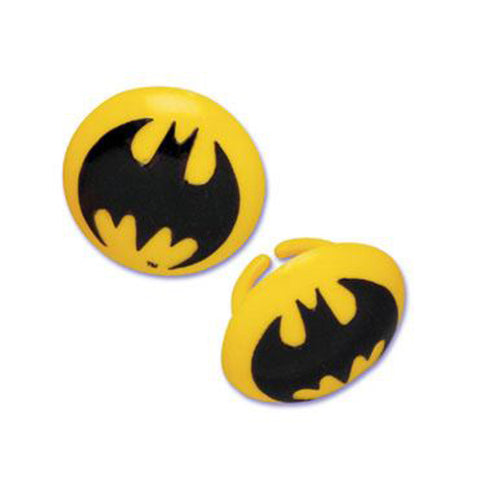 batman symbol rings