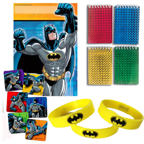 12 Guest Batman Favor Sets