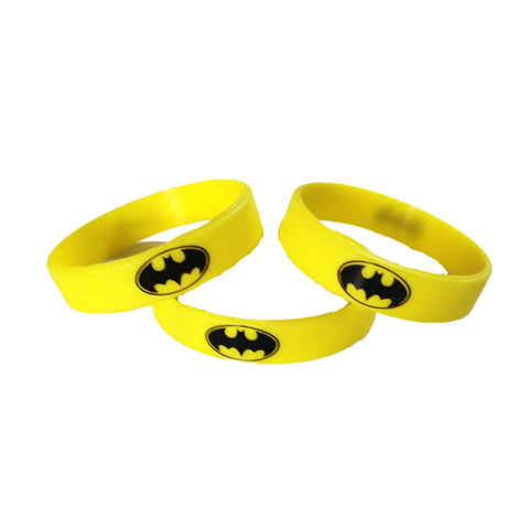 Batman Symbol Wristbands - Youth Party Favors