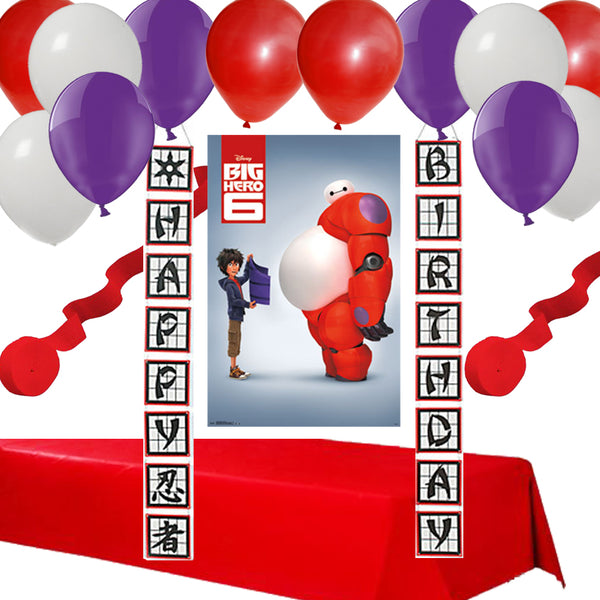 Big Hero Party Decoration Set