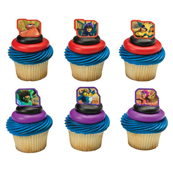 Big hero 6 cupcake rings