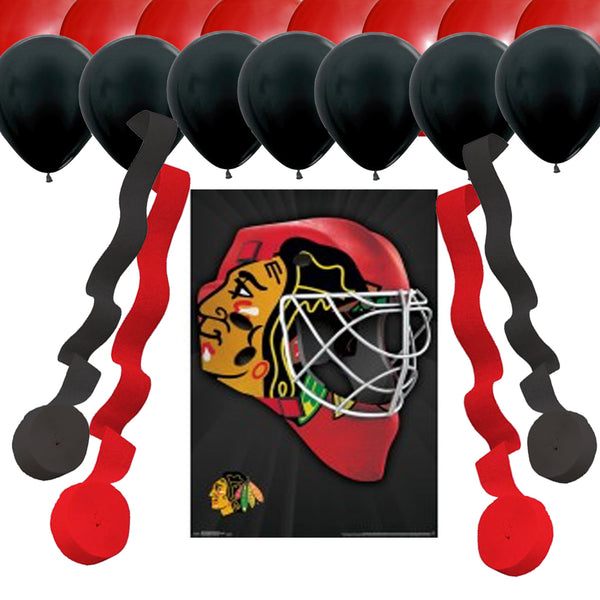 Chicago Blackhawks Party Decoration Set