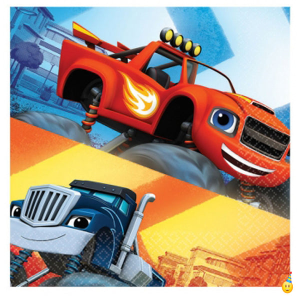 Blaze & the Monster Machines party napkins