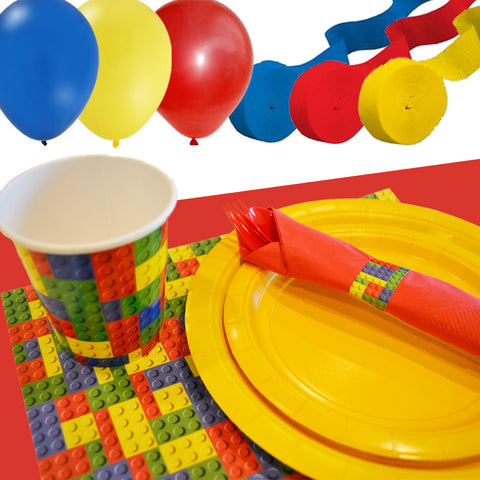 lego party tableware