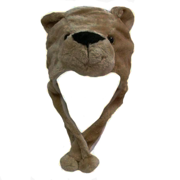 Bear Cubs Plush Cozy Hat
