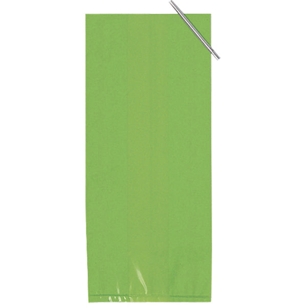 Green Cello favor bags