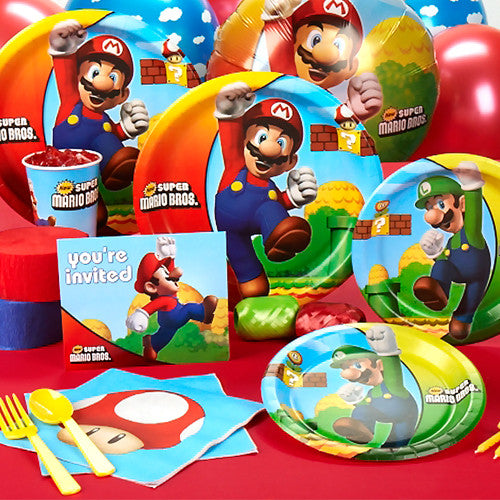 Super Mario Tableware Set - 8 Guests