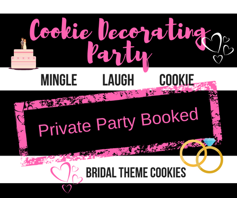 Cookie Decorating Party  {private-sara} 5.18.19 - one ticket