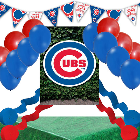 Chicago Cubs Party Decoration Set