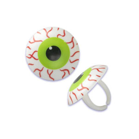 Eyeball Cupcake Rings