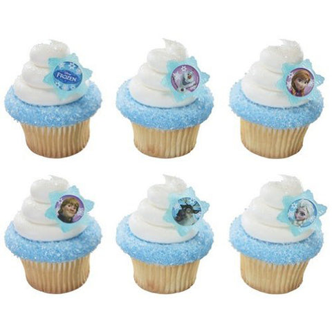 Disney Frozen Cupcake Rings