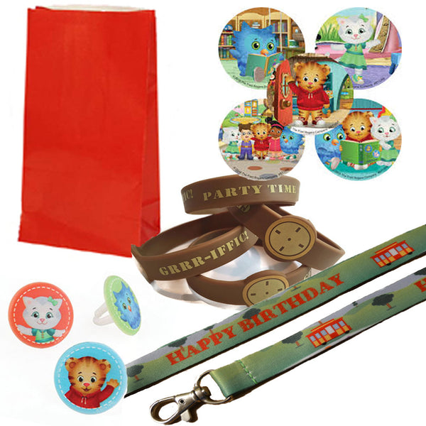 Daniel Tiger favor set