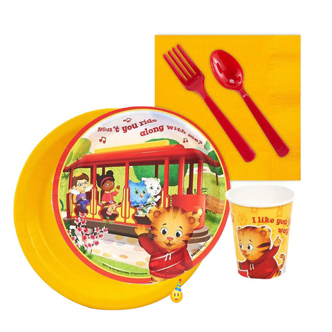Daniel Tiger Neighborhood Tableware - 8 Guests