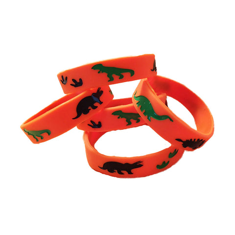 dinosaur party wristbands