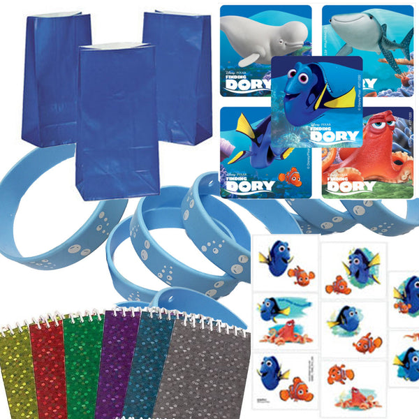 12 Guest Finding Dory Party Favor Set